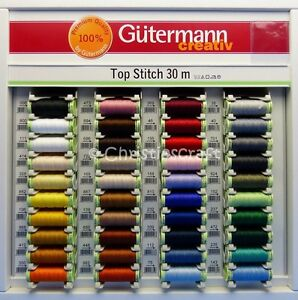 Image Is Loading Gutermann Top Sch Thread Extra Strong