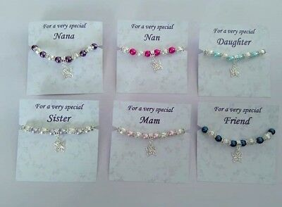 Erfly Charm Pearl Bracelet Special