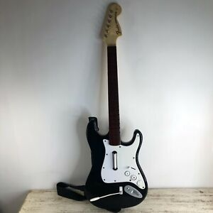 Nintendo Wii Harmonix Fender Stratocaster Guitar A #NWGTS2 Rock Band NO DONGLE