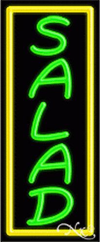 "NEW /""SALAD/"" VERTICAL 32x13 W//BORDER REAL NEON SIGN w//CUSTOM OPTIONS 11022"