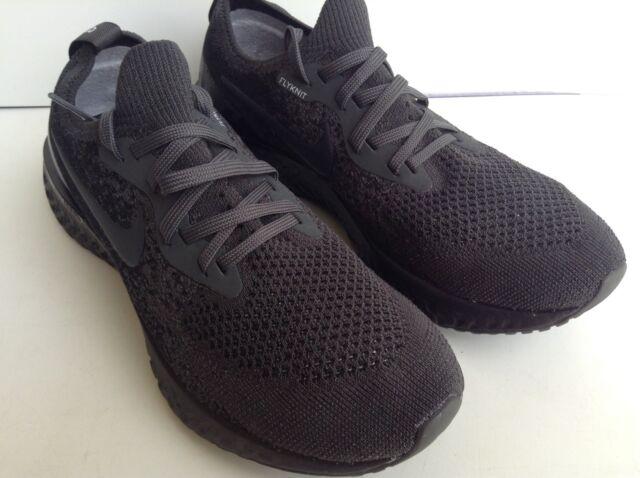 68716b7e9dce WMNS Nike Epic React Flyknit ID Black-dark Grey Sz 7.5 Aj7286-994 ...