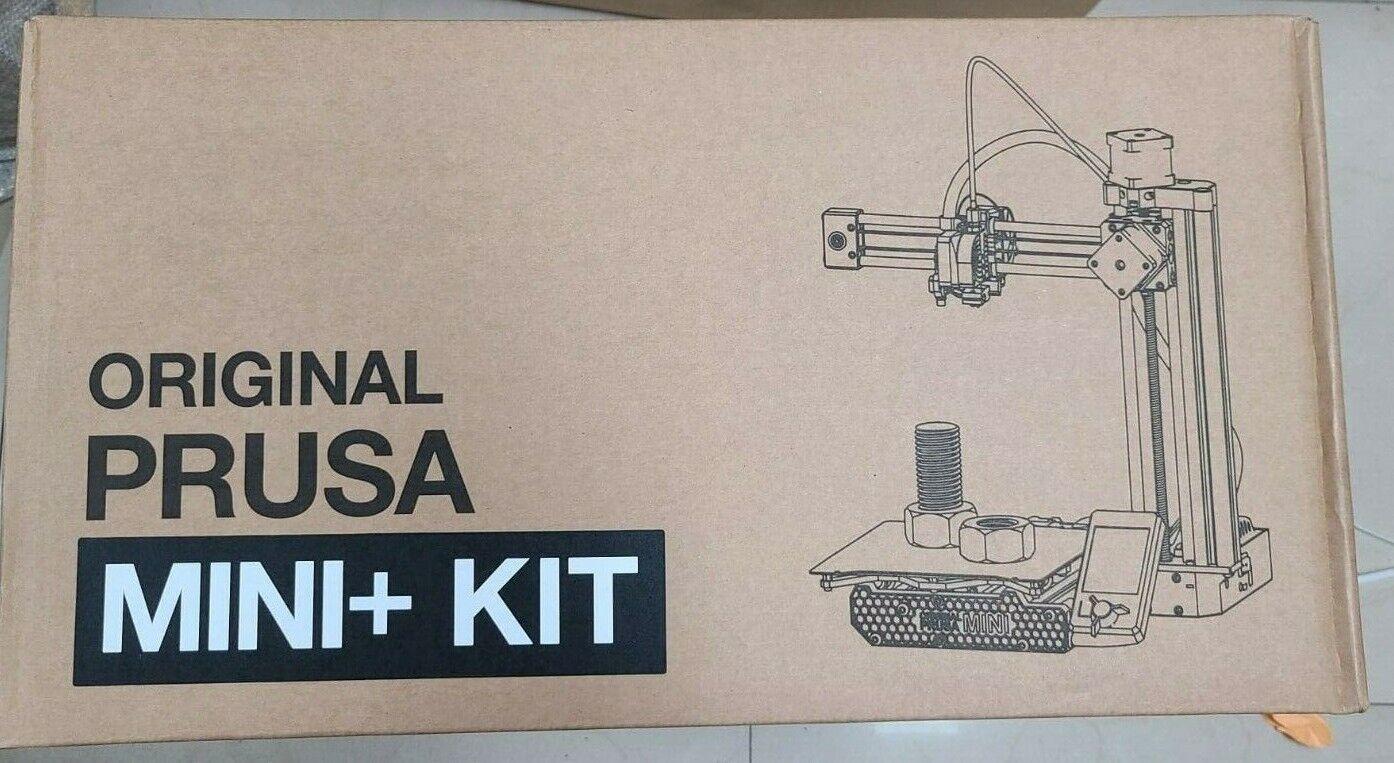 Prusa Mini+ kit w/ smooth & textured print bed, filament sensor Orange NEW USA