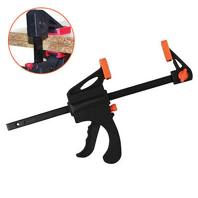 4Inch Ratchet Release Speed Squeeze Wood Bar Clamp Spreader Tool Woodwork Kit HU