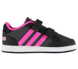 newest e7d18 2fcff Image is loading adidas-Neo-Hoops-CMF-Infant-Kids-UK-3-