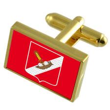 Orsha City Belarus Flag Cufflinks Tie Clip Box Gift Set