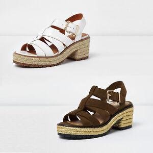 River Island Sandals - white Sfq4GEOt