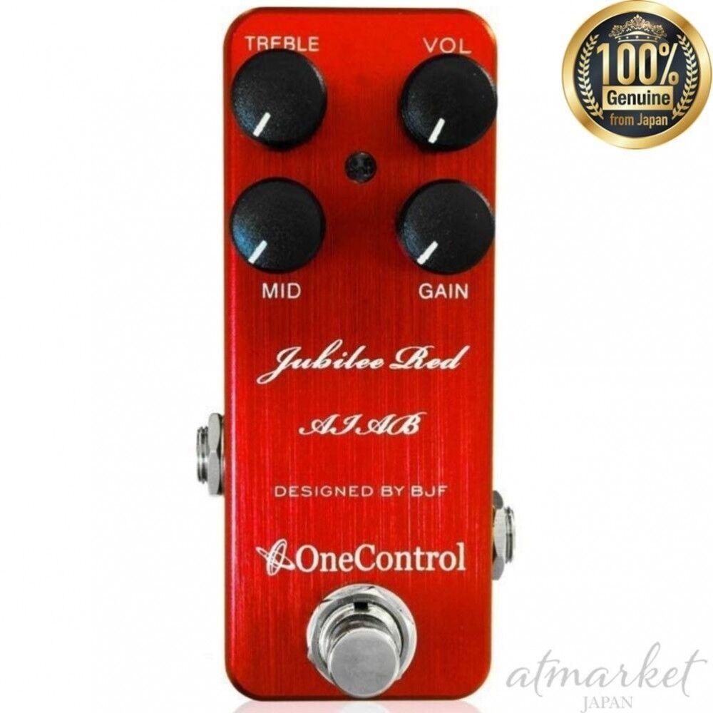 One Control Jubilee Rojas Aiab Aiab Aiab Distorsión Efectos de Guitarra Auténtico de Japón  diseño simple y generoso