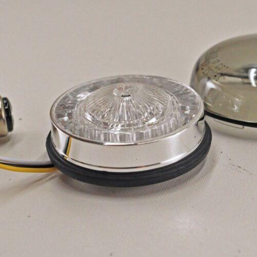 Custom Dynamics ProBEAM Dynamic RINGZ Front Amber//White LED Turn Signals Smoked