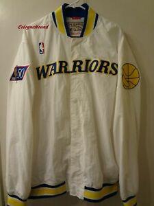 size 40 b3d47 64b26 Mitchell & Ness Golden State Warriors Hardwood Classics Jacket
