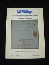 PHILLIPS AUCTION CATALOGUE 1981 CHANNEL ISLANDS
