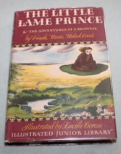Illustrated-Junior-Library-The-Little-Lame-Prince-HB-DJ-very-nice