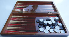 Eser Polyester Tavla Orta Boy Backgammon Set mit hoher Qualität aus Holz-Neu-OVP