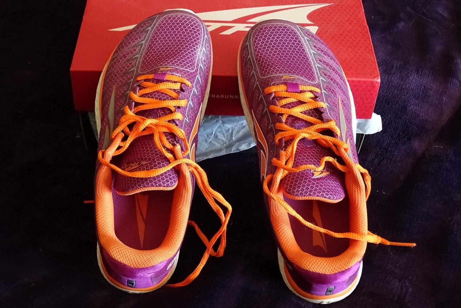 Damenschuhe ALTRA TRAINERS ONE V3 RUNNING Schuhe TRAINERS ALTRA PURPLE/ORANGE sz 7.0 c9ab89