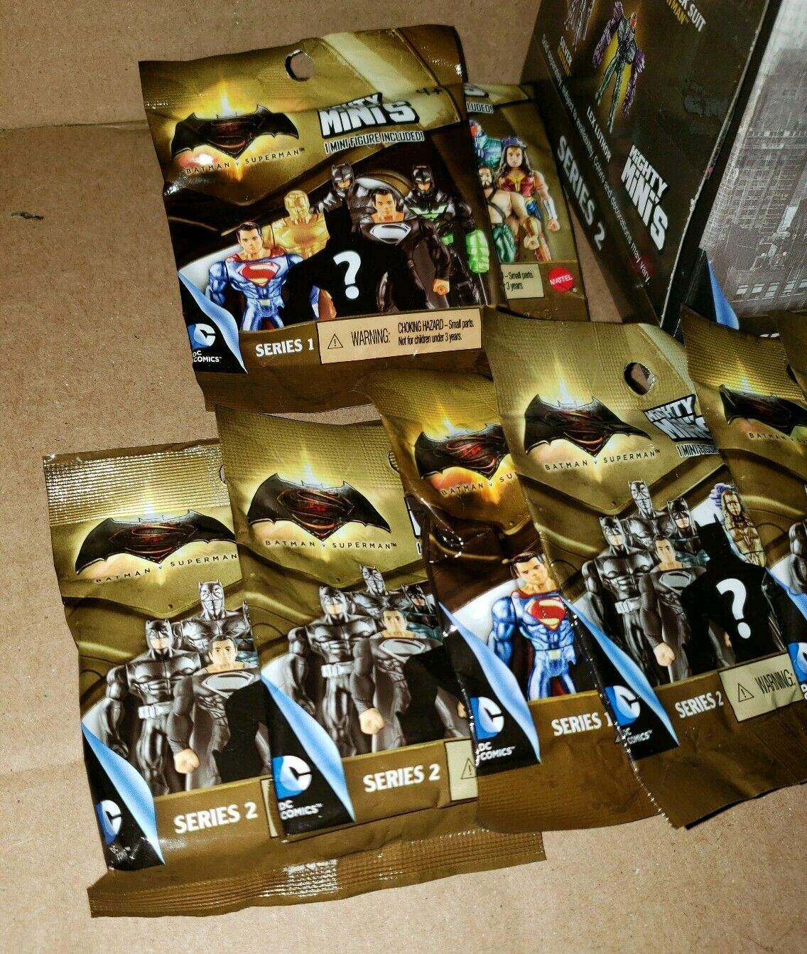 Batman v Superman Mighty Minis Series 1&2 Blind Blind Blind Bag Mini Figure Lot of 17 age 4+ d45a0d