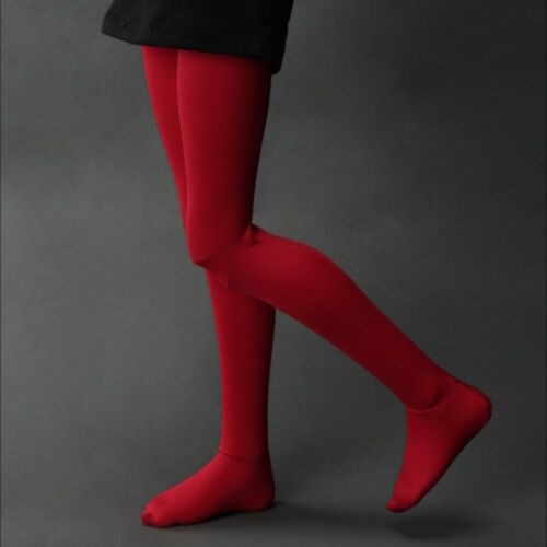 Dollmore MSD Single Hue Band Stockings Red