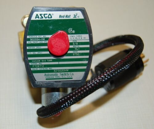 "ASCO Red Hat 8210G33VM Valve 38"" §"