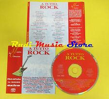CD A TUTTO ROCK compilation PROMO 1996 HALEY RICHARD BERRY(C1**)no lp mc dvd vhs