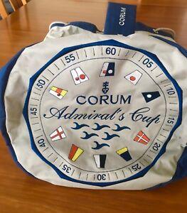 Rare! Vintage Corum Admiral's Cup Large Nylon Duffel Bag