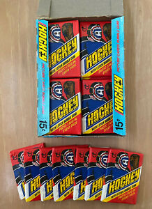 VINTAGE-1977-1978-TOPPS-NHL-HOCKEY-CARDS-ONE-1-UNOPENED-WAX-PACK-From-BBCE-BOX