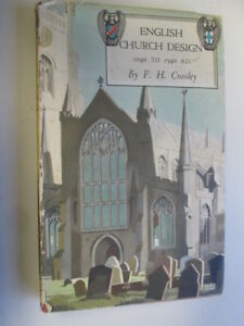 Acceptable-English-Church-Design-1040-1540-Ad-2ND-Edition-Crossley-Fred-H-1