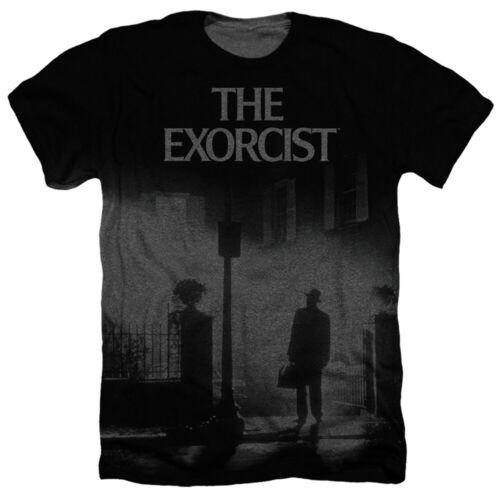 The Exorcist Exorcist Poster Adult Sublimation Heather T-Shirt