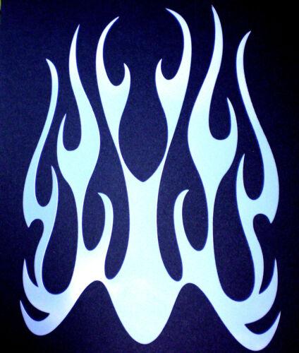 high detail airbrush stencil ghost flames FREE POST
