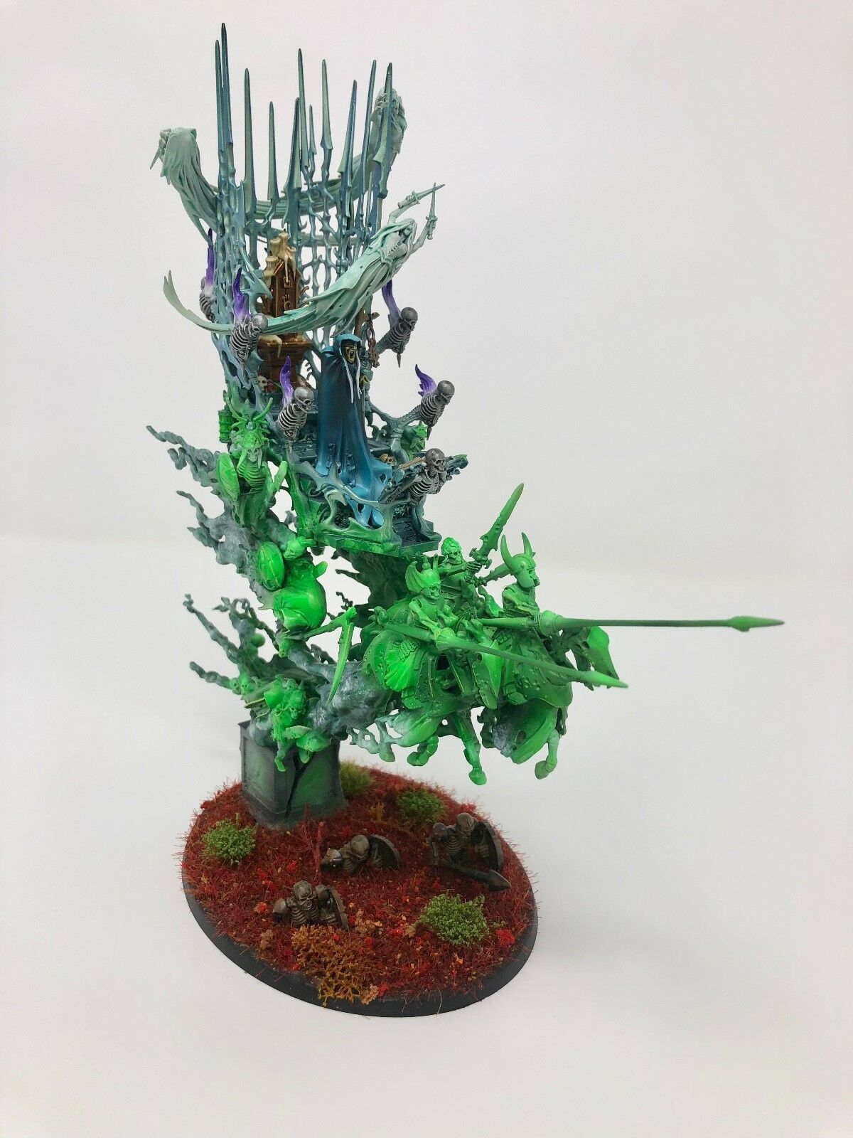 Games Workshop nighthaunt Mortis motor bien pintados