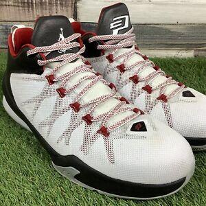 UK11-Nike-Air-Jordan-CP3-XIII-8-AE-White-Trainers-Chris-Paul-NBA-RARE-EU46
