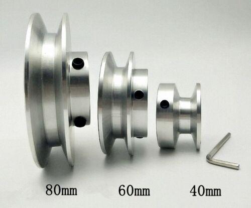 Dorl /_ Select Od 40-80mm Loch Durchmesser 8-25mm V-Fuge Step Riemenscheibe