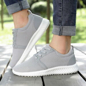cheaper c2fd7 e5013 Image is loading Women-Tennis-Shoes-Ladies-Casual-Athletic-Walking-Running-