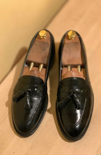 Alden 691 Tassel Loafer Shoes Black 11 B