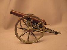 Marklin field cannon, 8001/1, green carriage, steel barrel, spring loaded