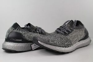 105e240cd Image is loading Adidas-UltraBoost-Uncaged-Silver-Pack-Black-Size-8-