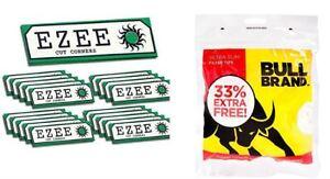 Marchio-Bull-Filtro-Ultra-Slim-Borse-450-039-s-x-2-Ezee-Verde-Carta-x-18-Libri