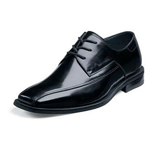 Stacy Adams Farley Dress shoes Lace Up Oxford Classy Smooth Bicycle Toe Size 9.5