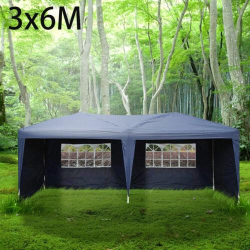 Gazebo Marquee Party Tent Side Waterproof Garden Patio Outdoor Canopy Leg Weight