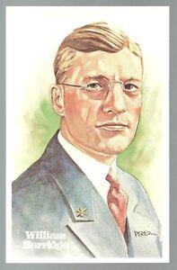 WILLIAM-HARRIDGE-Perez-Steele-Hall-of-Fame-Postcard-130