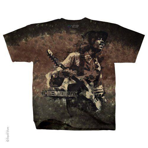JIMI HENDRIX-STONE FREE-GUITAR-TIE DYE TSHIRT M,L,XL,4X Very Limited-Vintage