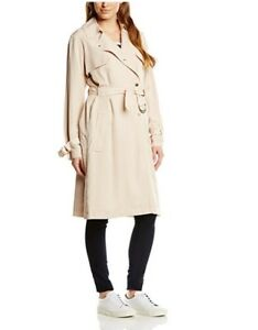 Coat Connection Long Waterfall French Cover Drape Duster Mac Light 8 Trench 16 6wzqzCd