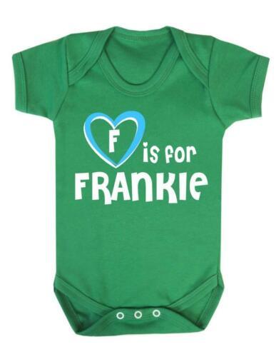 Frankie Baby Bodysuit F Is For Frankie Baby Vest Playsuit