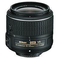 Nikon NIKKOR 18-55mm F/3.5-5.6 DX AF-S Lens Camera Lenses
