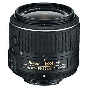 Nikon NIKKOR 18-55mm F/3.5-5.6 DX AF-S Lens