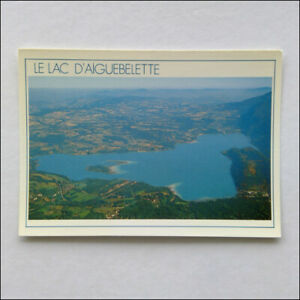 Lake-Aiguebelette-view-from-Mont-Grelle-Postcard-P375