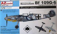 AZ Models 1/72 AZ7453  Messerschmitt Bf109G-6 JG.53 'Pik A's' Ltd Ed