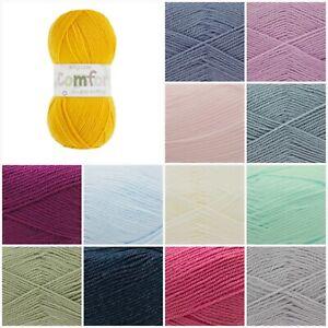 King-Cole-Baby-Comfort-DK-Acrylic-Knitting-Wool-Yarn-100g