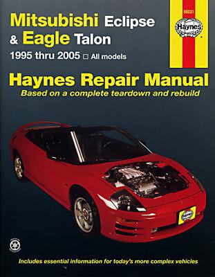 Mitsubishi Eclipse /& Eagle Talon 95-05 /& talon 95-98 Haynes Manuel 68031