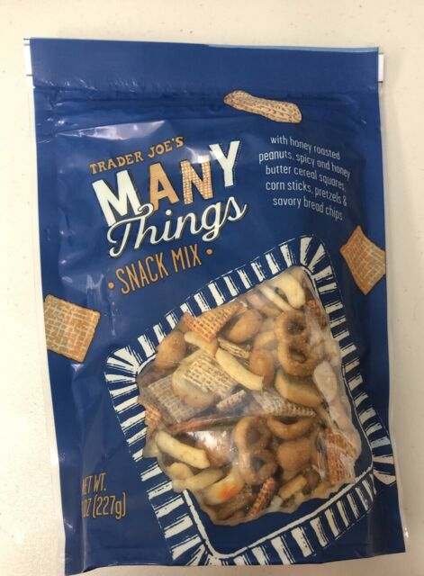 Trader Joe's MANY THINGS SNACK MIX 8 oz. 1 Bag