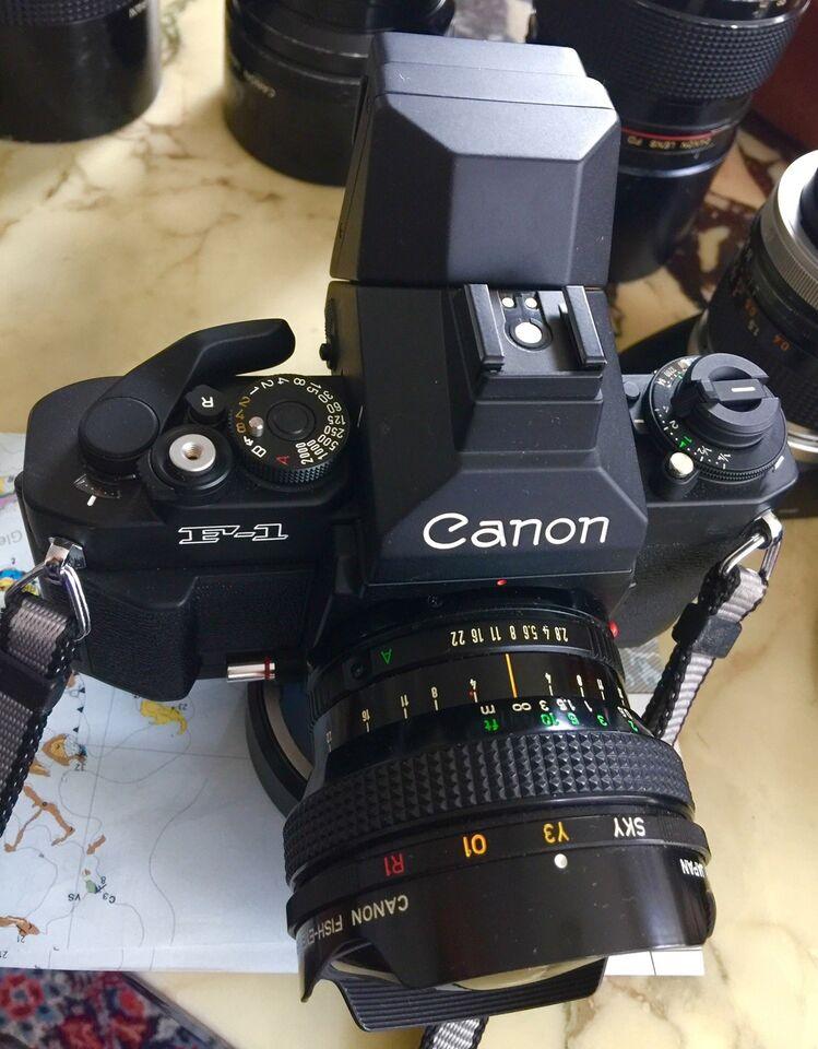 Canon, Canon F-1 NEW UBRUGT KAMERA BODY, Perfekt