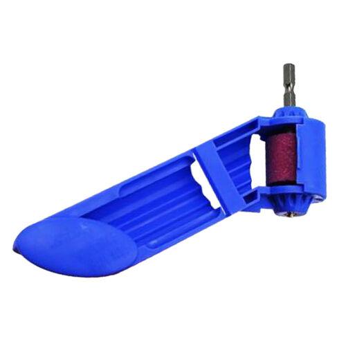Tragbare elektrische  Bohrerschärfgerät  Bohrmaschine  Bohrer Spitzer Blau