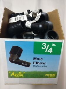 60-ct-Apollo-3-4-034-NPT-x-1-2-034-Barb-Irrigation-Elbow-for-Rain-bird-Swing-hose